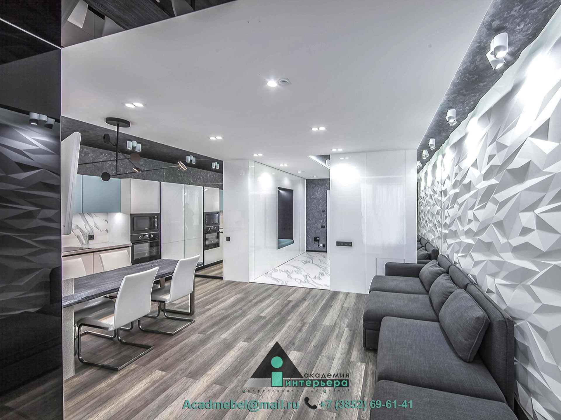 Мебель в квартиру-студию